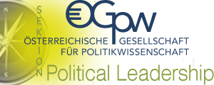 Logo of the Political-Leadership Branch of the Austrian Political Science Association.